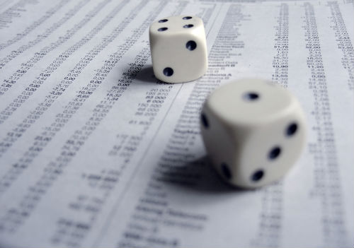 gambling in the stock market